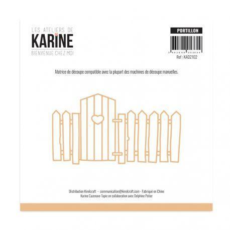 Les Ateliers de Karine Bienvenue chez moi Stanzdie - portillon