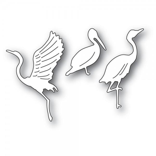 Memorybox Stanzdie - Graceful Ocean Birds