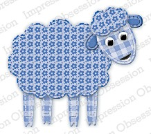 IO Stanzdie Patchwork Sheep