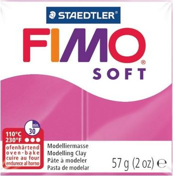Fimo Soft himbeere