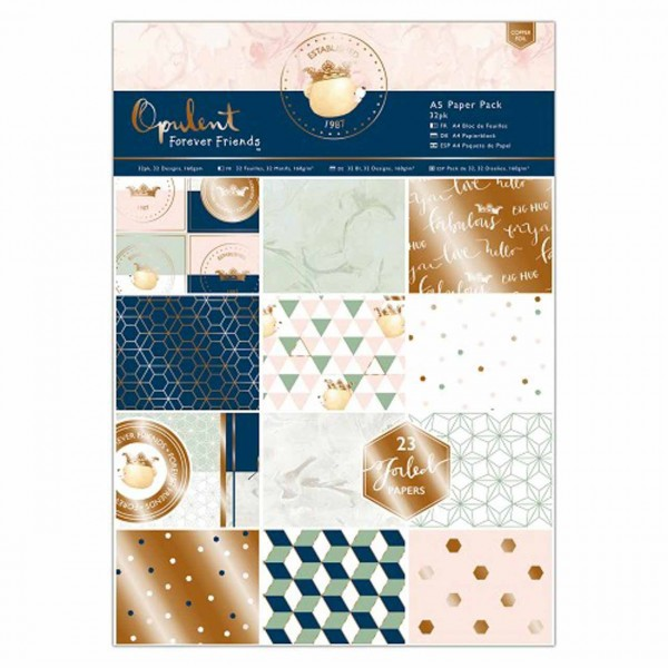 Docrafts Paper Pack Forever Friends Opulent