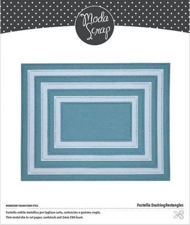 Moda Scrap Fustella Stanzdie - Dashing Rectangles
