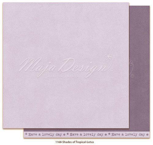 Maja Design Monochromes - Shades of Tropical - Lotus