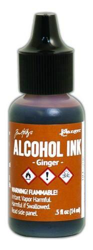 Adirondack Earthtones Alcohol Ink Ginger