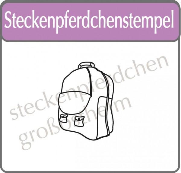 Steckenpferdchenstempel Rucksack
