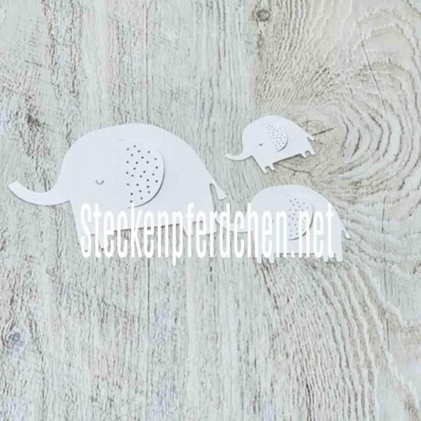 Steckenpferdchenstanze Elefantenset