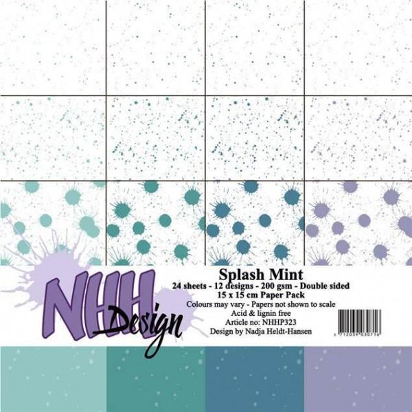 Papier Pack 6 inch - Splash Mint