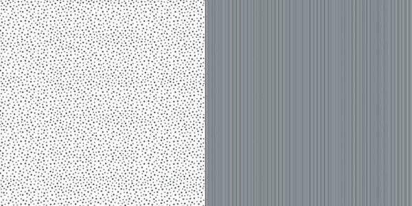 Dini Design Papier mini Sterne/Streifen Mitternacht