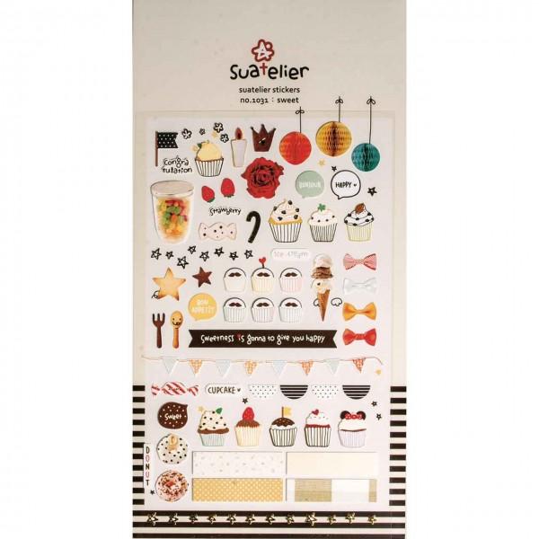 Sticker sweets