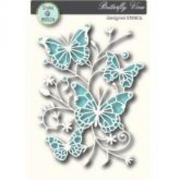 Memory Schablone Butterfly Vine