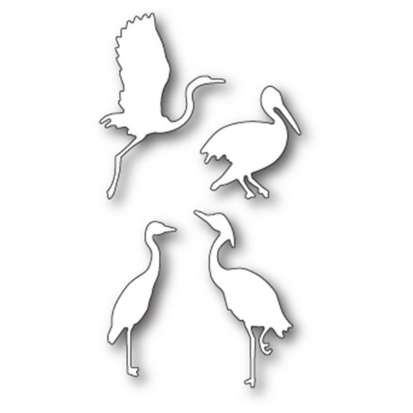 Memory Box Steeldie elegant Shorebirds