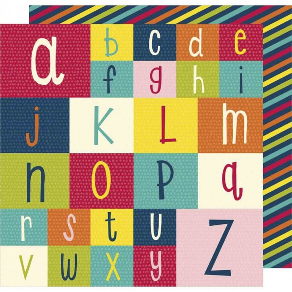 American Crafts Shimelle Box of Crayons Spell it out
