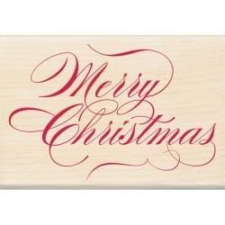 Inkadinkado Holzstempel Merry Christmas