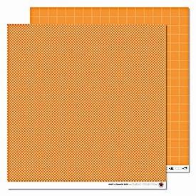 Karen Marie Klip Orange Big Orange white & orange Dots
