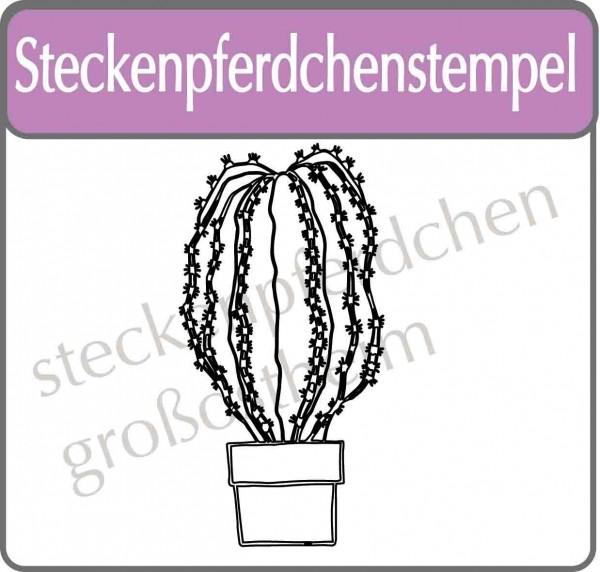Steckenpferdchenstempel Kaktus 6