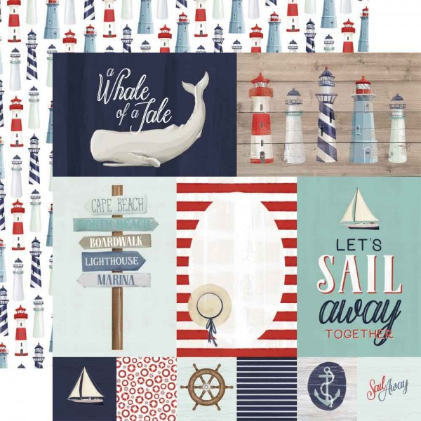 Carta Bella By the Sea - Journaling Cards