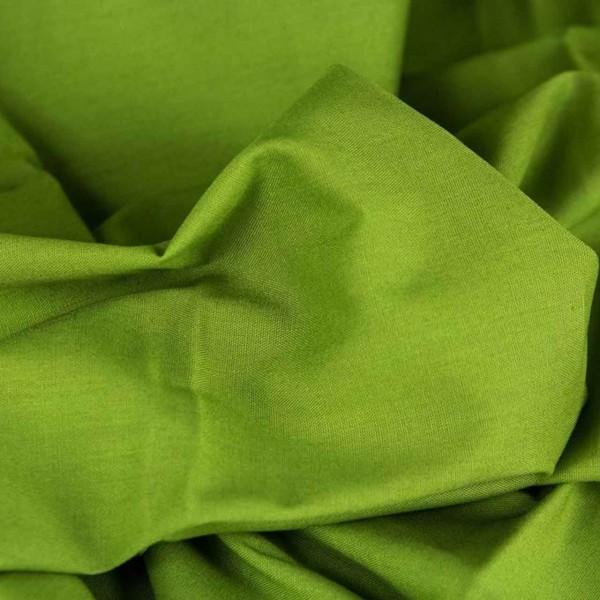 Baumwollstoff Heide grün