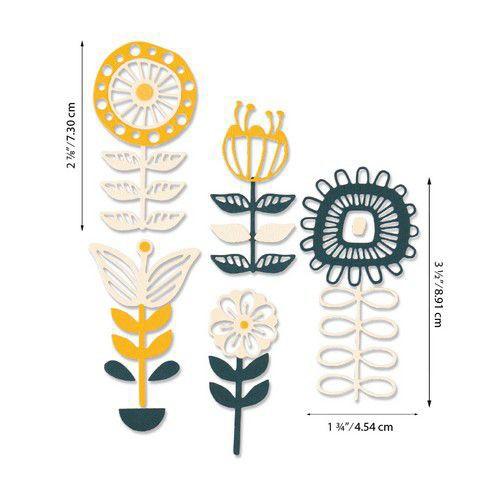 Sizzix Thinlits Stackable Florals