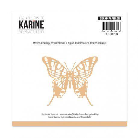 Les Ateliers de Karine Bienvenue chez moi Stanzdie - grand papillon