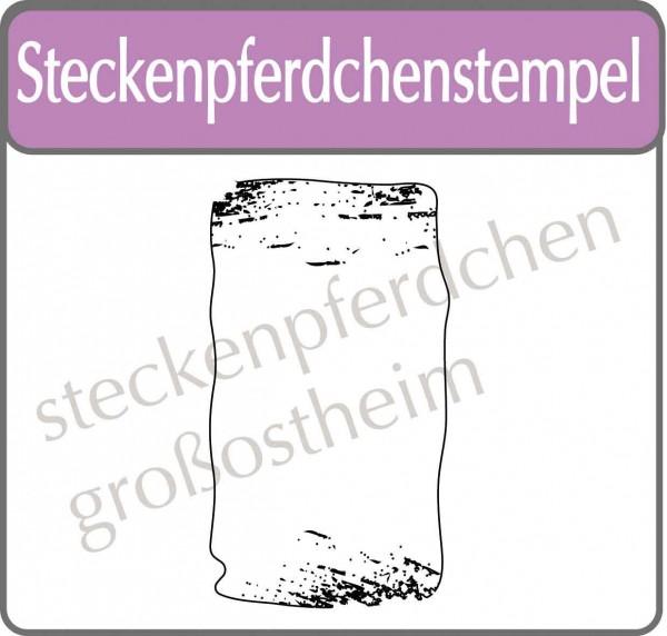 Steckenpferdchenstempel Label