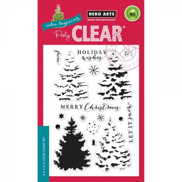 Hero Arts Clearstempel Layering Christmas Tree