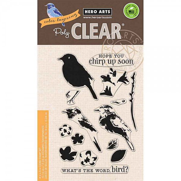 Hero Arts Clearstempel Color Layering Bird & Branch