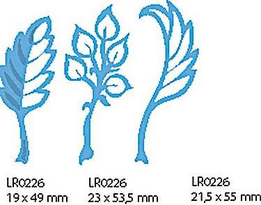 Mariannne Design leafe- Blätter