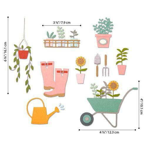 Sizzix Thinlits - Garden Shed