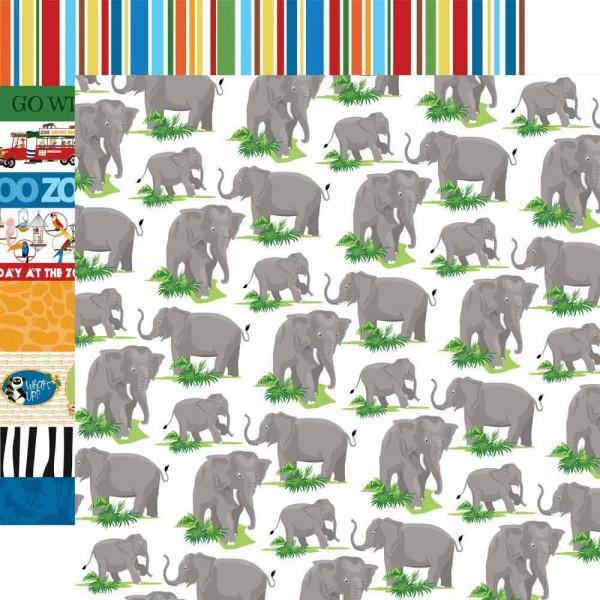 Carta Bella - Zoo Adventure - Elephants