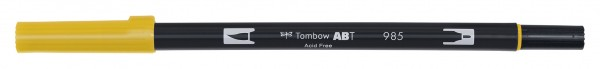 Tombow Dual Brush Pen - 985 - Chrome Gelb