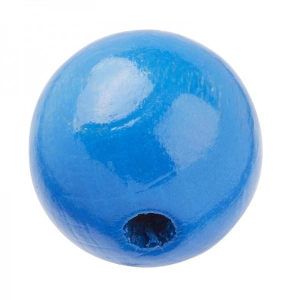 Schnulli Holzperlen 12 mm blau