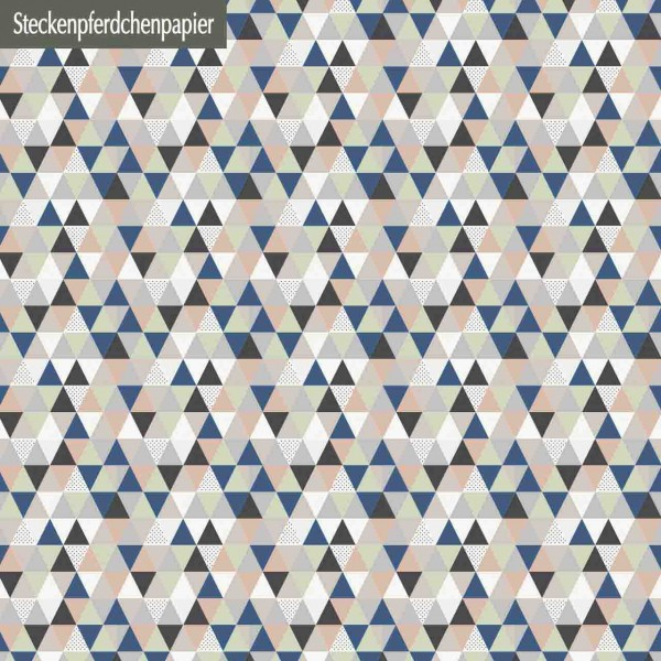 Steckenpferdchenpapier Geometric 02