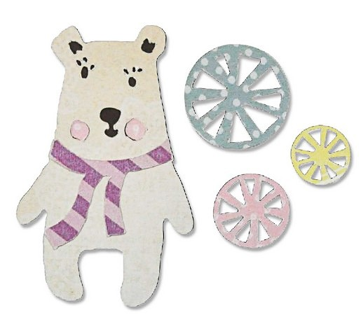 Sizzix Thinlits Friendship Bear
