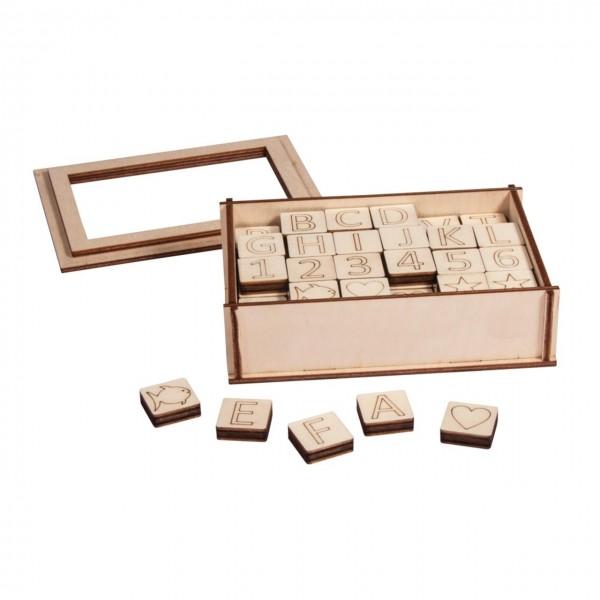 Rayher Holzbuchstaben und Zahlen