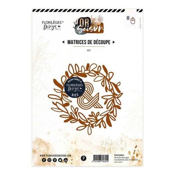 Florileges Stanzdie - Couronne Des 4 Saisons