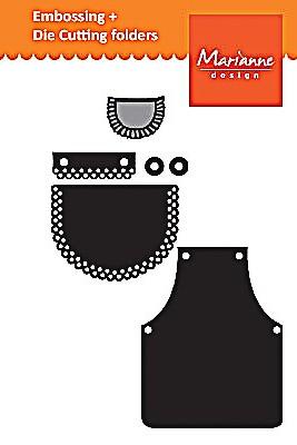 Marianne Design Craf Tables Schürze