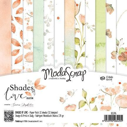 Moda Scrap Paper Pack - SHADES OF LOVE