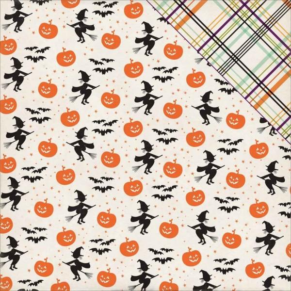Echo Park Halloween Town bewitching pumpkins