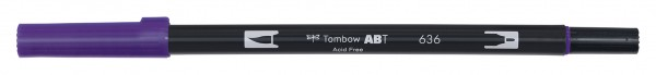 Tombow Dual Brush Pen - Imperial Purple - Kaiserviolett