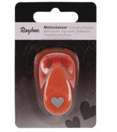 Rayher Motivstanzer mini Herz