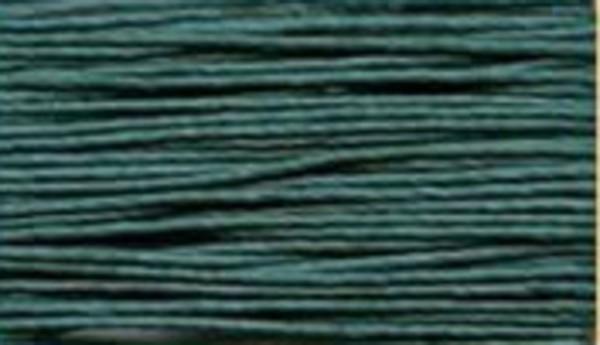 Leinengarn gewachst pfauenblau