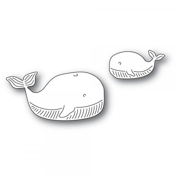 Memorybox Stanzdie - Whale Family