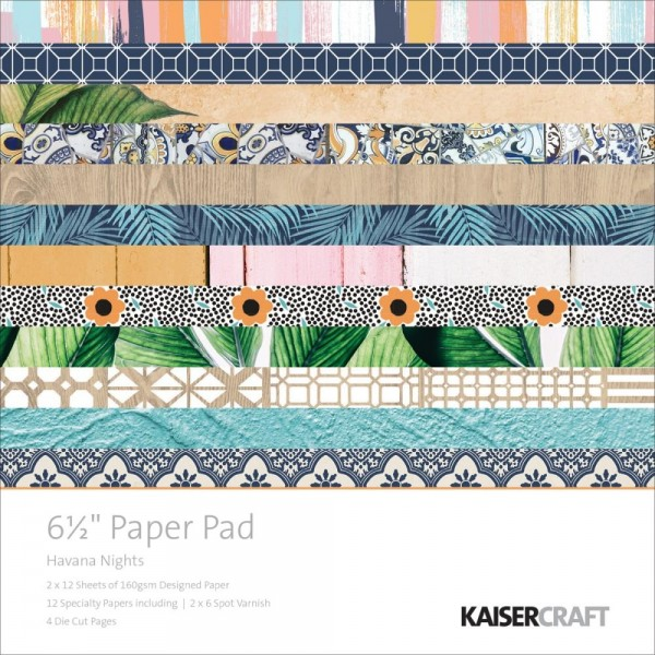 Kaiser Craft Paper Pad Havana Nights