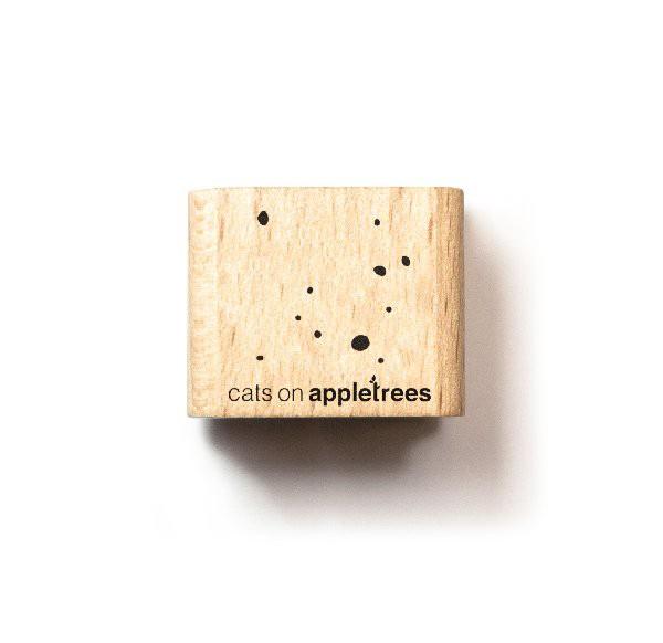cats on appletrees Ministempel kleines Konfetti