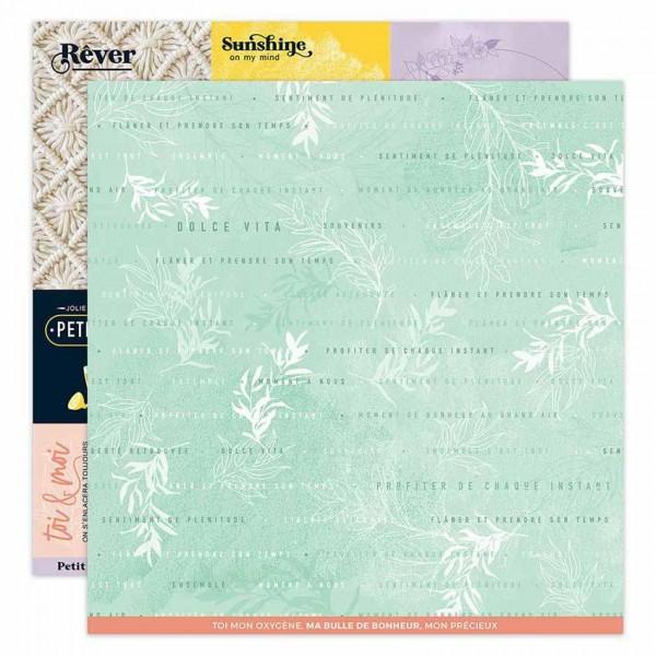 Florileges Papier Dolce Vita N°7