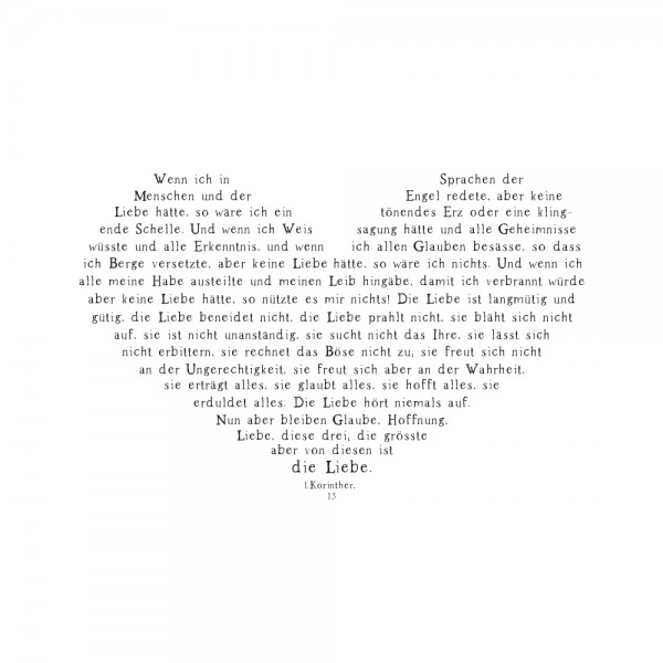 Rayher Holzstempel Glaube, Hoffnung, Liebe