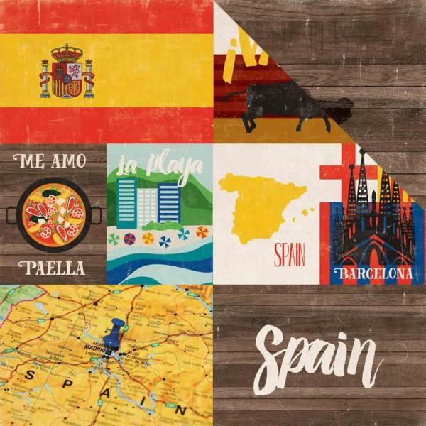 Echo Park Paper arround the world Spain