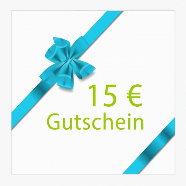 Gutschein 15 €