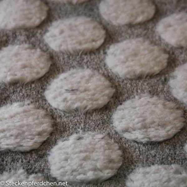 Fleece mit Kreisen