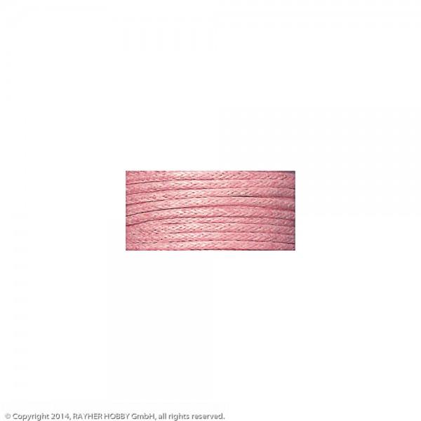 Baumwollkordel, gewachst rosé